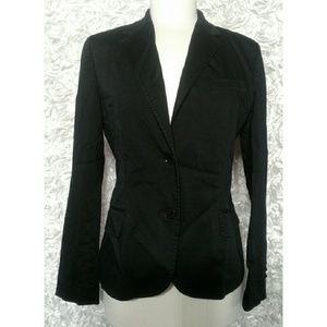 Lauren Ralph Lauren Two Button Suit Jacket Black
